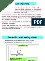 Dimensioning As per BIS Standard
