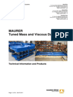 Tuned Mass and Viscous Dampers