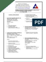 Training Center Directory