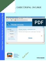 Install Guide Drupal CMS on Linux v1.3