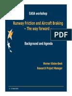 1.1 EASA Workshop Background