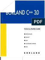 Borland C++ 3 0 Tools and Utilities Guide