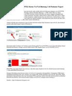 Cara Edit Data Rinci PTK Status VerVal Bintang 3 Di Padamu Negeri