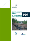 Environmental Issues in Golf Course Construction (SGEG 2005)