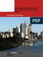 Green and open space planning for urban consolidation – A review of the literature and best practice