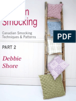 Smocking Book Part 1 with Sample