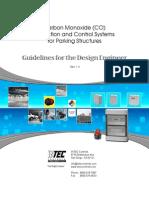 SENSOR - CO Parking Garage Design Guidelines