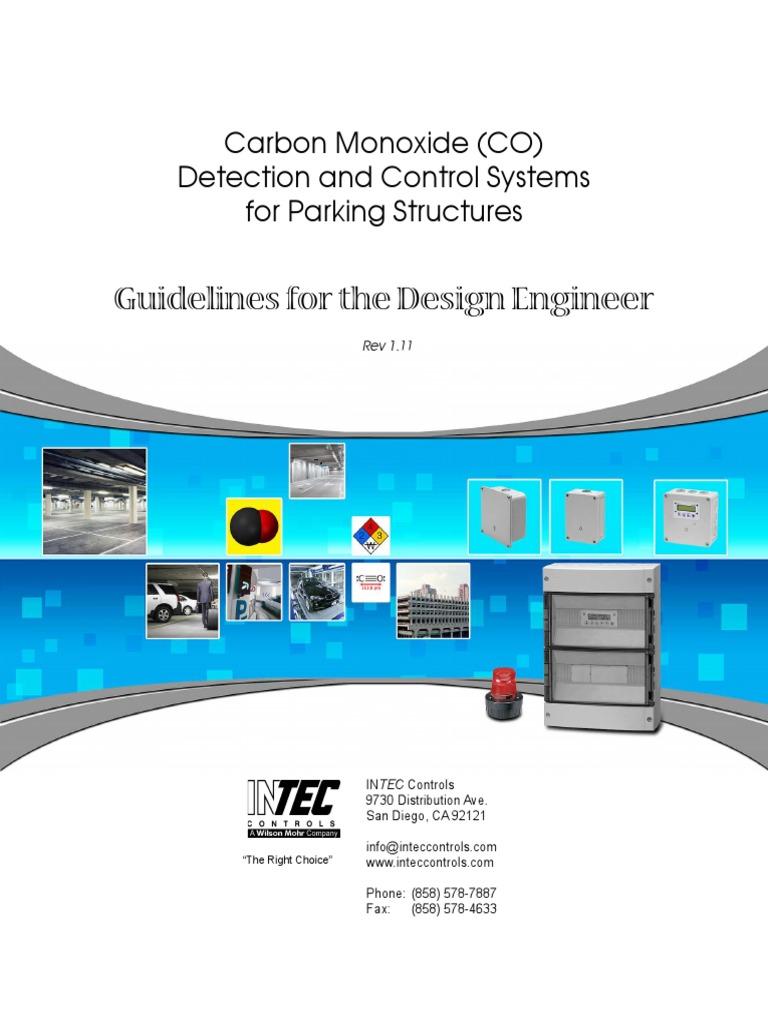 SENSOR - CO Parking Garage Design Guidelines | Carbon Dioxide ...