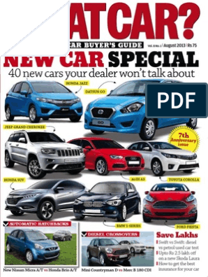 What Car India - August 2013 | Luxury Vehicles | Audi
