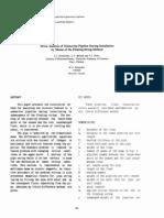 Stress Analysis of Submarine Pipeline During Installation