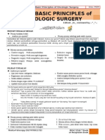 Basic Principles of Oncologic Surgery