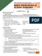 Basic Principles of Oncologic Surgery