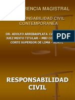 CONFERENCIA MAGISTRAL DE RESPONSABILIDAD CIVIL.ppt
