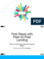 Open Source Finance - First steps of P2P lending with Ulrich Atz
