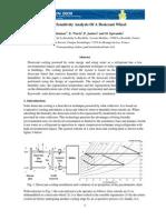 A Sensitivity Analysis of a Desiccant Wheel
