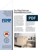 Two-Wheel Desiccant Dehumidification System, Federal Technology Alert