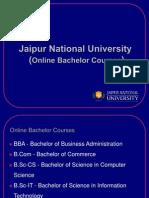 Online University Bachelors Degree Program