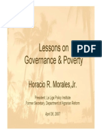 Governance and Poverty (2007)