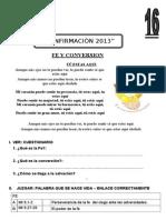 Tema 16 Fe y Conversion