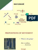 Movement Prepositions