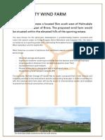West Garty Wind Farm CC Documents[1]