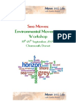 Sea Moves - Environmental Movement Workshop
