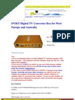 dvbt digital tv converter box for west europe and australia in car dvbt converter-portable dvbt receiver-mini dvbt converter box