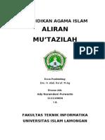 Makalah Aliran Mu'Tazilah