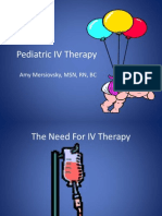 Pediatric IV Therapy
