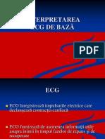 Interpretarea ECG