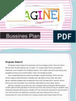Proposal Imagine Digital Printing