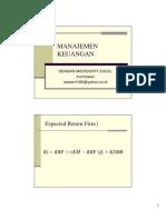 Tanya Jawab Soal Manajemen Keuangan