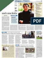 Intervista Fra Michele Passamani su L'Adige del 10 ottobre 2013