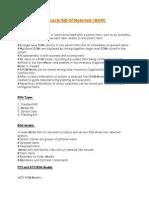 Understanding Oracle Bill Of Materials.docx