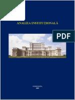 analiza institutionala