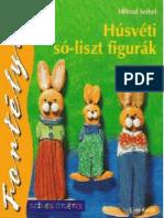 Színes ötletek fortélyok 41 - Húsvéti só-liszt figurák