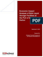 Economic Impact Analysis of Bulk Liquid at Port of Grays Harbor
