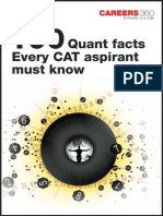 100 Quant Facts Every CAT Aspirant Must Know