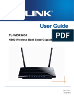 TL-WDR3600 User Guide