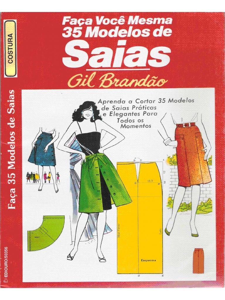 Resultado de imagem para 35 modelos de saias-gil brandão.pdf