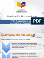 PLANIFICACION MICROCURRICULAR curso