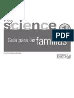 Guía para las familias. Key Science 1