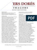 [Alchimie] Pythagore - Vers Dorés ou Vers d'Or.pdf