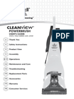 The Bissell Cleanview Powerbrush Guide