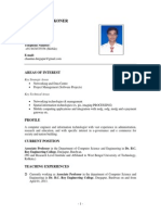 Chandan Koner Resume