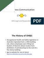 Lecture 5 OHS Legals