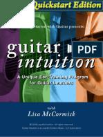 Guitar Intuition Quickstart StudyGuide