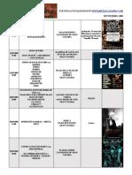 calendario metalcanario SEPTIEMBRE - 2009