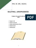 Buletin Jurisprudenta CA Craiova
