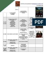 calendario metalcanario DICIEMBRE - 2009